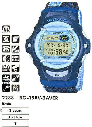 Casio BG-198V-2A