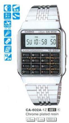 Casio CA-602A-1