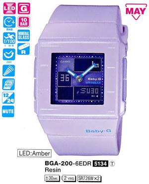 Casio BGA-200-6EER