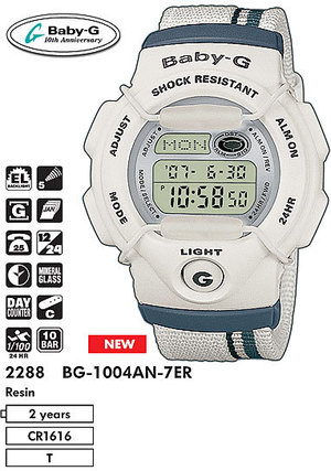 Casio BG-1004AN-7E