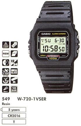 Casio W-720-1V