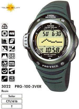 Casio PRG-100-3V