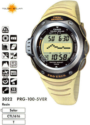 Casio PRG-100-5V
