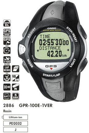 Casio GPR-100E-1V