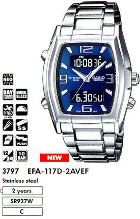 Casio EFA-117D-2A