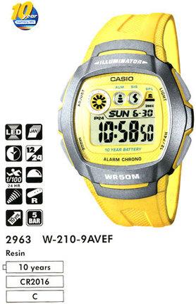 Casio W-210-9A