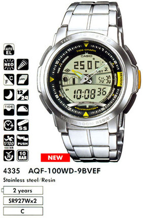 Casio AQF-100WD-9BVEF