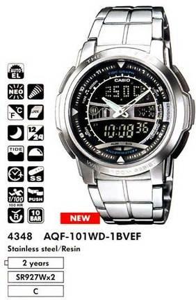Casio AQF-101WD-1BVEF