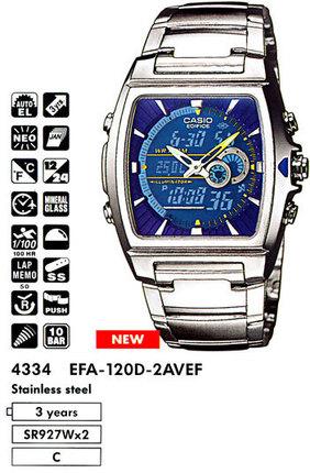 Casio EFA-120D-2A