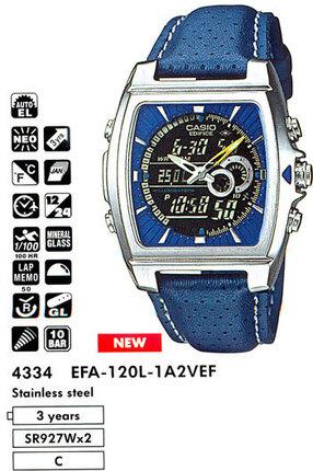 Casio EFA-120L-1A2