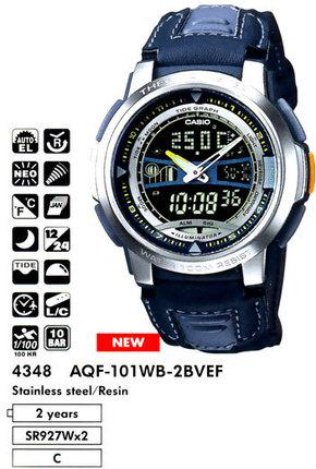 Casio AQF-101WB-2B