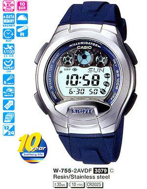 Casio W-755-2AVEF