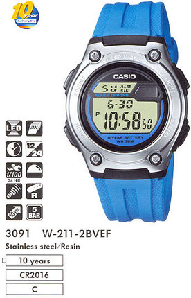 Casio W-211-2B
