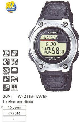 Casio W-211B-1AVEF