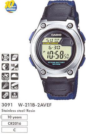 Casio W-211B-2A