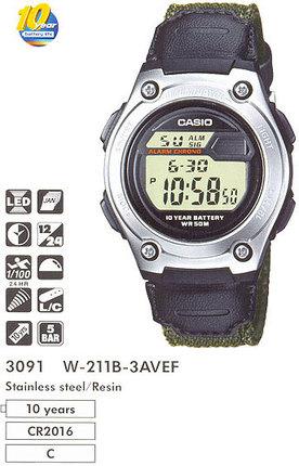 Casio W-211B-3A
