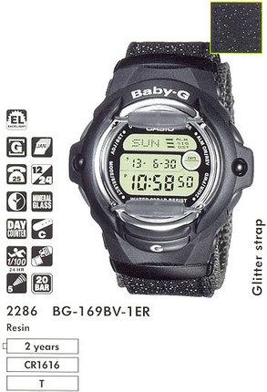 Casio BG-169BV-1ER