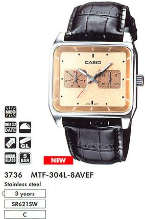 Casio MTF-304L-8A