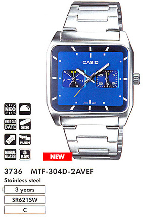 Casio MTF-304D-2A