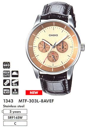 Casio MTF-303L-8A