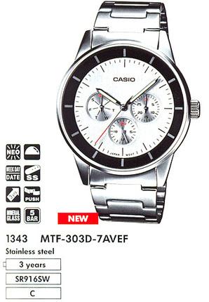 Casio MTF-303D-7A