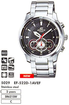Casio EF-522D-1A