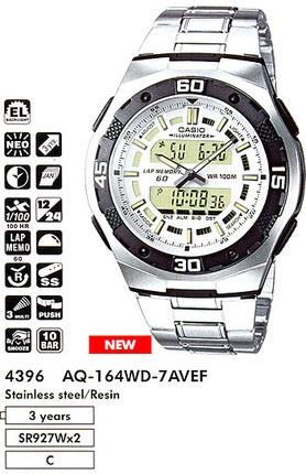 Casio AQ-164WD-7A
