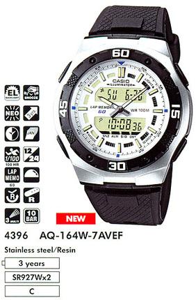 Casio AQ-164W-7A