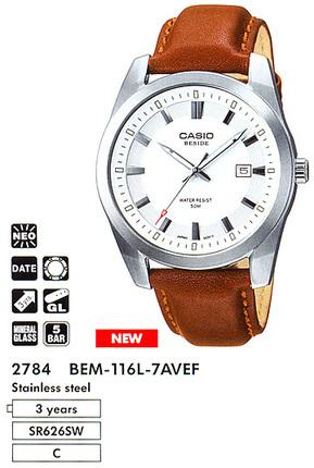 Casio BEM-116L-7A