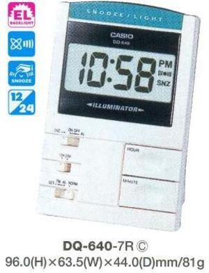 Casio DQ-640-7R