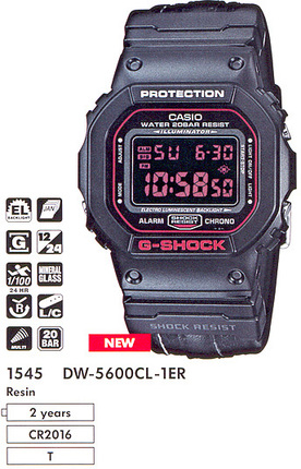 Casio DW-5600CL-1E