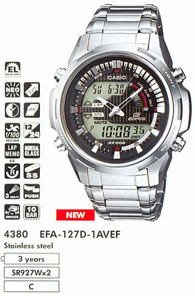 Casio EFA-127D-1A