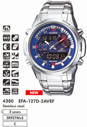 Casio EFA-127D-2A