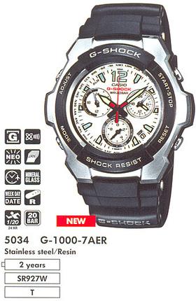 Casio G-1000-7A