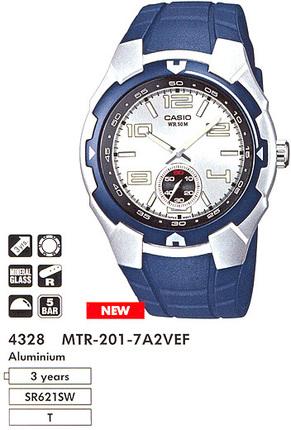 Casio MTR-201-7A2