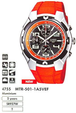 Casio MTR-501-1A5