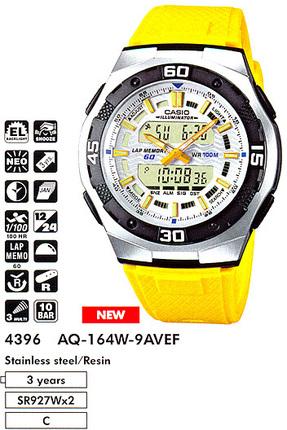 Casio AQ-164W-9A
