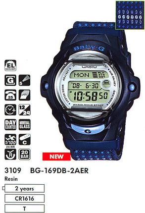 Casio BG-169DB-2AER