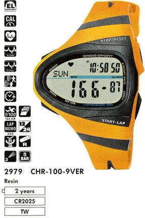 Casio CHR-100-9V