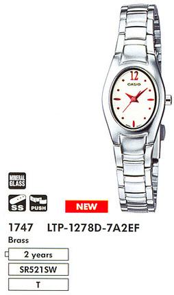 Casio LTP-1278D-7A2