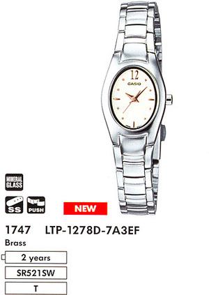 Casio LTP-1278D-7A3