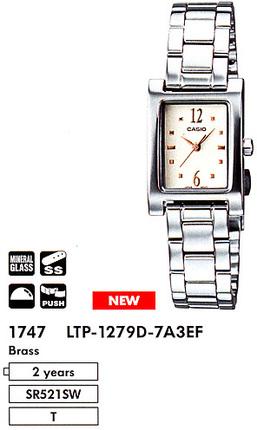 Casio LTP-1279D-7A3