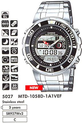 Casio MTD-1058D-1A1