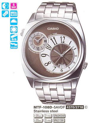 Casio MTF-108D-5A
