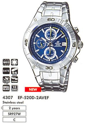 Casio EF-520D-2A