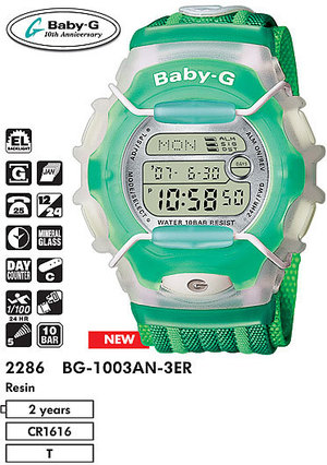 Casio BG-1003AN-3E