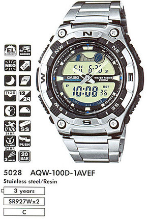 Casio AQW-100D-1AVEF