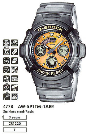 Casio AW-591TM-1A