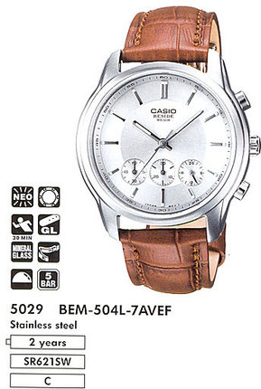 Часы CASIO BEM-504L-7AVEF BEM-504L-7A.jpg — Дека
