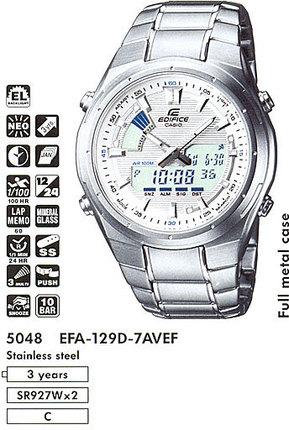 Casio EFA-129D-7A